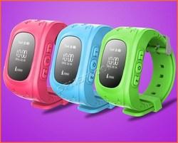 2015 kids watch phone Mini GPS Tracker Smart Kid Q50 Children Watch Android IOS Antilost safe Kids Smart Watch Phone GPS Tracker