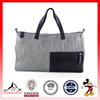 High Quality Fashion Stripe Denim Duffle Tote Bag Travel Bag Weekender Bag (ESX-LB166)