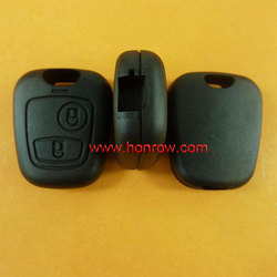 High qualily & Cheapest Citroen 2 button remote key shell case blank cover Without Logo (no blade )