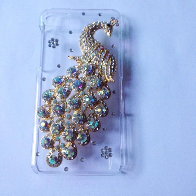 Чехол для для мобильных телефонов Blackberry Z10 Bling Crystal Blackberry Z10 PC