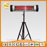 High Heatin Efficiency &healthy Infrared Patio Heater/electric quartz heater