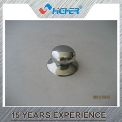 Stainless steel cookware pot lid /glass lid shift knob