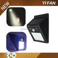 Aluminum Solar Led Motion Sensor Light