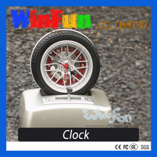 Car Tyre Running Alarm Clock Table Clock