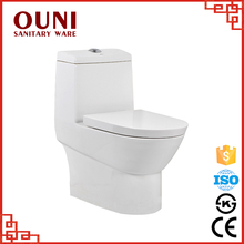 sanitary ware washdown one piece toilet for bathroom