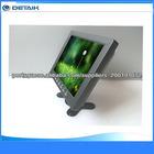8 polegadas monitor de lcd com avi bnc vga interface