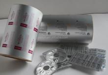 Alu foil blister foil packs for pharmaceutical blister push through packing foil