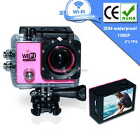 2015 Hot Selling Outdoor Waterproof Action Sport Camera SJ6000 with WIFI