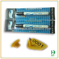 Quick drying broad tip ear tag permanent waterproof marker pen