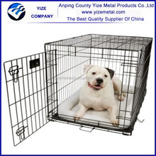 """24"""" Folding Heavy Duty Pet Crate Kennel Wire Cage for Dogs Cats or Rabbits"""