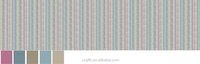 stripe and wave pringting and close-packed pattern of fabric bedding sets