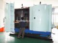Maquina para cromado de plastico/vacío de máquinas metalizadas/ vacío de equipos metalizados para gorras cosméticas de plástico