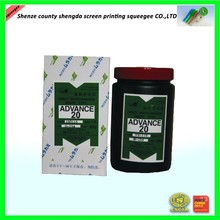 Excellent durability screen printing photo emulsion AD 20 emulsion