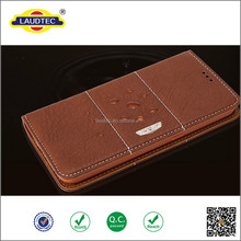 Luxury Business Style Real Leather Mobile Phone Case Cellphone Shell for samsung s6