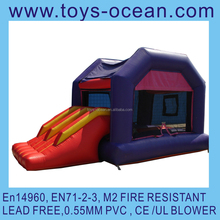 Inflatable Bouncer Combo Jumping Castle with Slide for kid /inflatable jumper