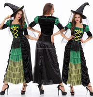 Popular witch fancy dress costume party sex cosplay costumes halloween costume QAWC-5299