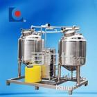 Sistema de esterilização limpeza on line