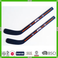 hot sell China make promotional quality gift wood player hockey stick supplier