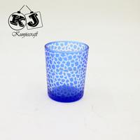 New designed cartoon tear drop glass candle holder
