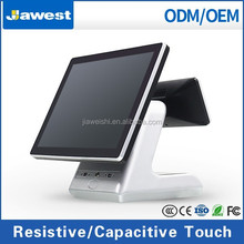 Hot Sale! Dual core 32G SSD 500G HDD All in One Touch Screen Pos Machine