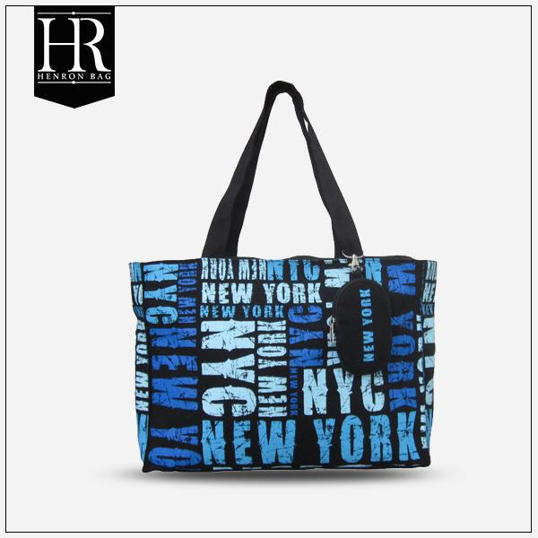HenRon2 BSCI Factory Eco friendly designer canvas tote bags