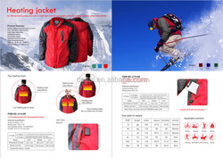 high quality leather motorcycle and heated coat made in china