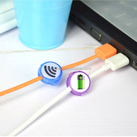 hot sales colorful multipurpose locking wire rope clip cable clip
