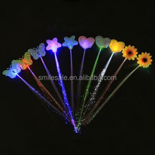 2015 Most Popular Luminous Fiber Led Hair Popular Party Decoration Cheap