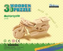 DIY wooden motorcycle toy
