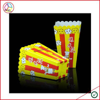 High Quality popcorn box size