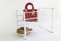 Modern design home office funiture metal wire storage basket