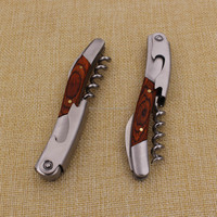 Novelty fashion cheap murano wine corkscrew with high quality
