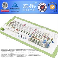 Machine for making high Intensity AAC (autoclaved aerated concrete) block