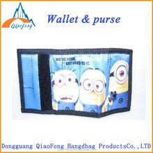 magic purse minion wallet for children cute cheap wallets