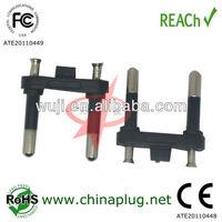 China manufacture 2 pins Brazil ac power plug