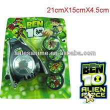 Wholesales Anime Ben 10 Alien Force Omnitrix Watches With Discs