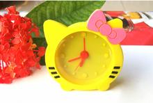 Customize logo hello kitty digital alarm clock,hello kitty wholesale