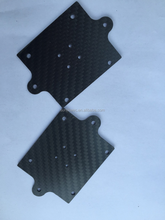 2015 high teach products 100% real carbon fiber sheet parts