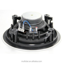 30W 6.5 Inch Hifi Powered Waterproof Speaker Subwoofer ABS Baffle Home Theater for Hotel and Restaurant Use