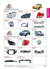 YUEERDA JUHAO catalog page 4 alibaba china automotive parts korean cars HYUNDAI GETZ 2002 2006 used auto body parts