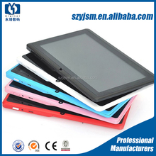 7inch a33 dual core china cheap tablets with Blutooth , GPS