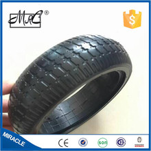 Hot ! hot ! hot semi-pneumatic 6.5 inch small rubber scooter tire children electric toy car tyre 153*5