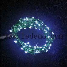 outdoor christmas decoration led copper string light