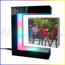 Alibaba de las ventas calientes Levitating magnético marco de la foto, hight quality