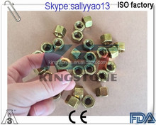 sanitary brass nut usefor High Pressure Tri Clamp 3A Approved