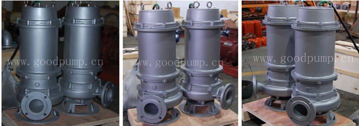 vertical Non-clog sewage centrifugal submersible pump, submersible water pump, submersible pumps