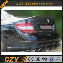 08-12 W204 Carbon fiber trunk for MERCEDES BENZ C63