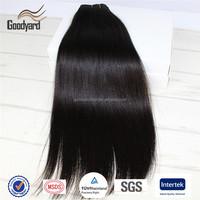 Mixed Length Natural Black Color Virgin Brazilian Human Hair extension weft Wave