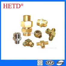 HETD Hydraulic Fittings 45 Metric Female Flat Seat Hose Pipe Fittings Hydaulic Parts 20241