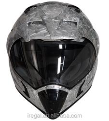 popular safe full face moto cross helmet ABS shell safey helmet